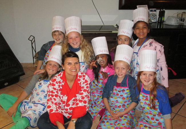 Chef-&-kids